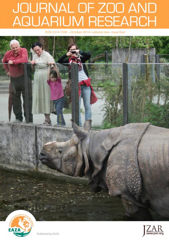 Visitors at Munich Zoo